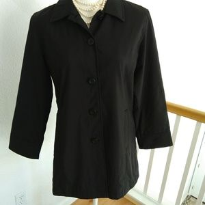 Style & Co black coat size small petite